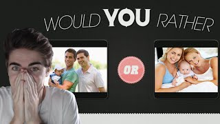 GAY OR LESBIAN PARENTS?! - Would You Rather (EXTREME)