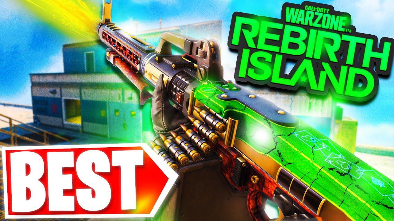 MG82 is INSANE on REBIRTH ISLAND *BEST LMG* (Alcatraz - Warzone)