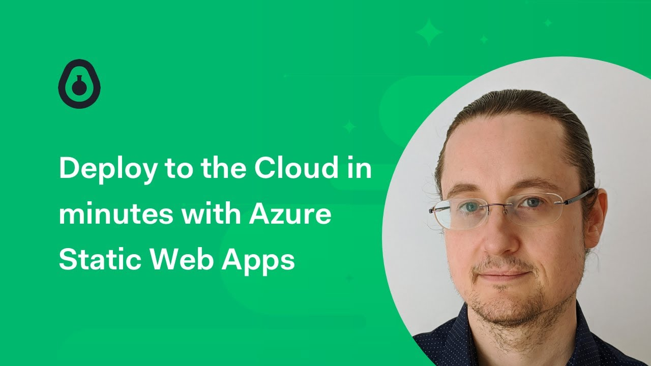 Deploy to the Cloud in minutes with Azure Static Web Apps - Chris Noring