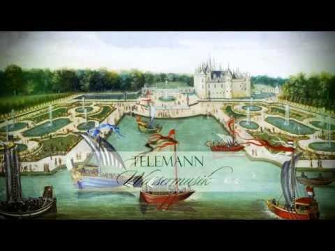 """G.F. Telemann: """"Wassermusik"""" Ouverture In C Major TWV 55:C3 [Zefiro-A.Bernardini]"""