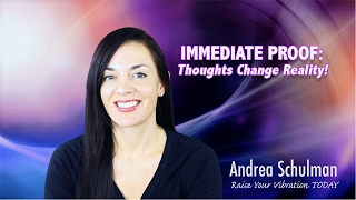 IMMEDIATE PROOF: Your Thoughts Create Your Reality!