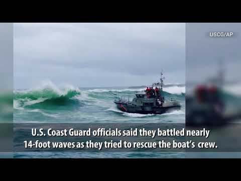 'Deadliest Catch' boat Capsizes Off Oregon Coast, 3 Dead
