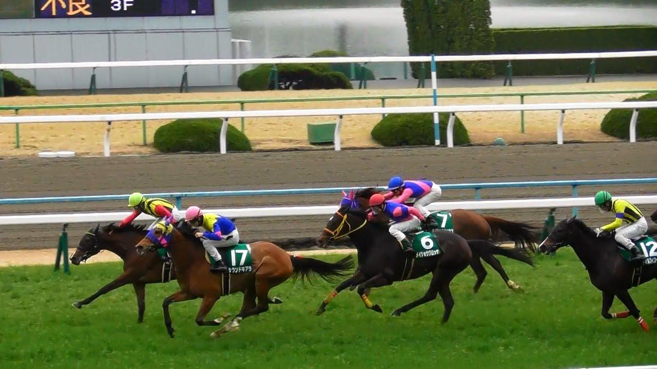 サウンドキアラ(松山騎手)が重賞連勝。四位騎手最後の重賞京都牝馬Sは11着。現地映像、京都競馬場。