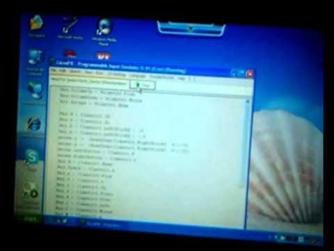 Glovepie classic controller pro script