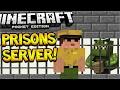 MCPE PRISONS SERVER! Minecraft Pocket Edition - Prisons Server, Quests, Trading (Pocket Edition)