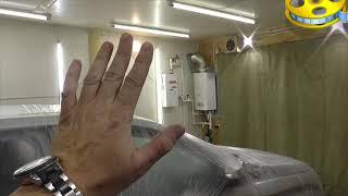 Отопление гаража газовой колонкой или как перевести на сжиженный газ