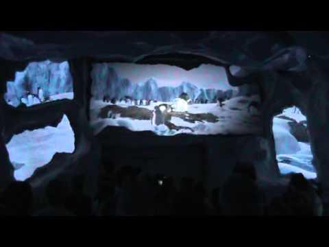 Antartica Empire of the Penguin On Ride POV, Penguin Habitat, and Grand Opening
