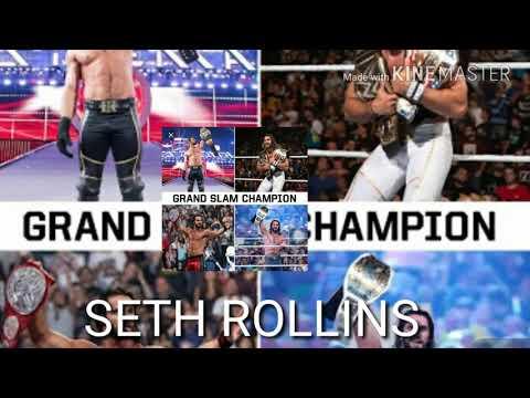 Wwe all grand slam champions