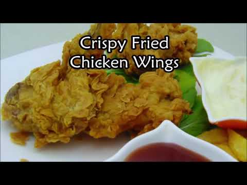 Food Fusion Food Recipes Crispy Chicken Fired Wings Recipe