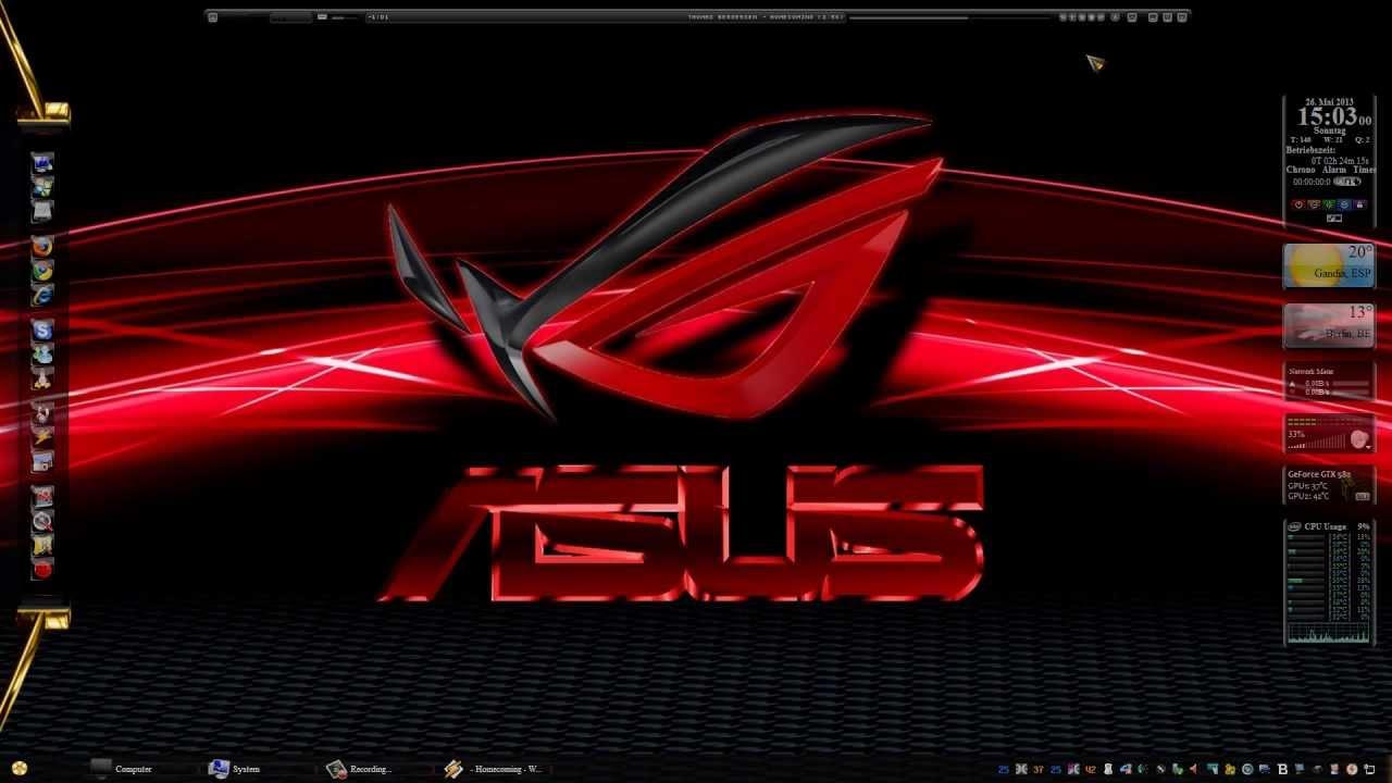 Asus rog (republic of gamers) windows 10 theme themepack. Me.