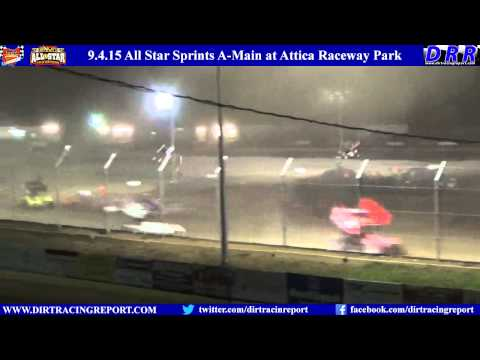 9.4.15 All Star Sprints A-Main at Attica Raceway Park