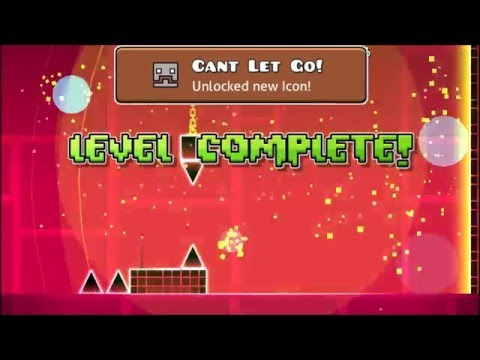 Geometry Dash ~ Can't Let Go All Coins (60 Fps)