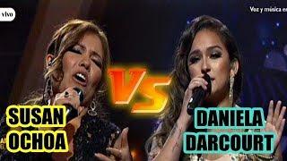 Susan Ochoa vs Daniela Darcourt se enfrentan en un duelo  a ...