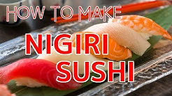 How to Make Nigiri Sushi 【Sushi Chef Eye View】