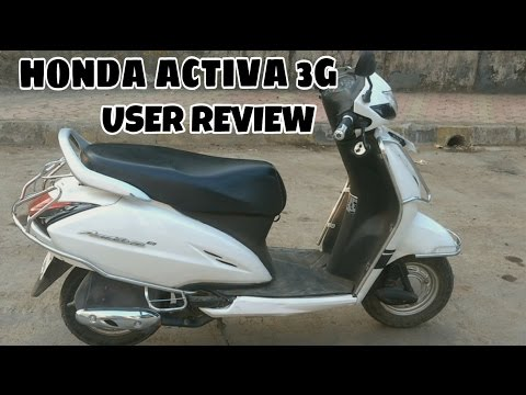 Honda Activa 3g user review | 1 year 16800 kms