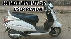 Honda Activa 3g user review | 1 year 16800 kms