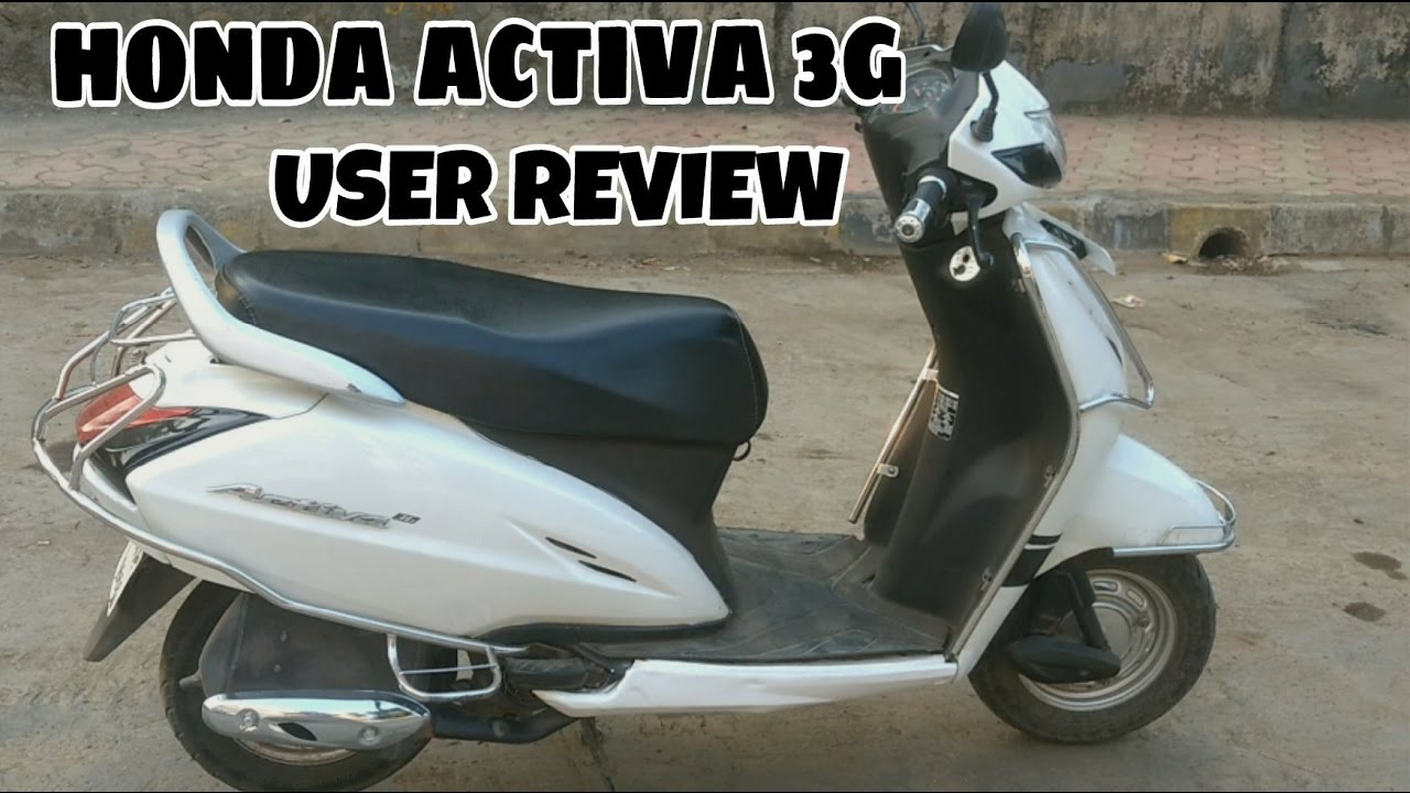 Honda Activa 3g user review   1 year 16800 kms  YouTube