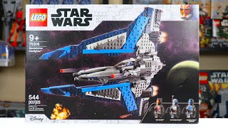 LEGO Star Wars 75316 MANDALORIAN STARFIGHTER Review! (2021)