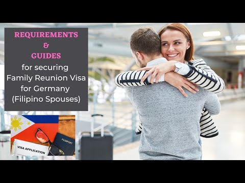 Family Reunion Visa Germany - Requirements & Guides for Filipino Spouses of German Citizens