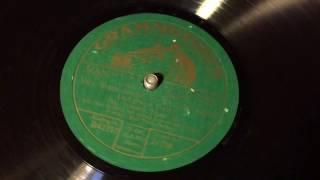 Max Hansen - Vier Worte Möcht Ich Dir Jetzt Sagen - 78 rpm - Grammophon 21758