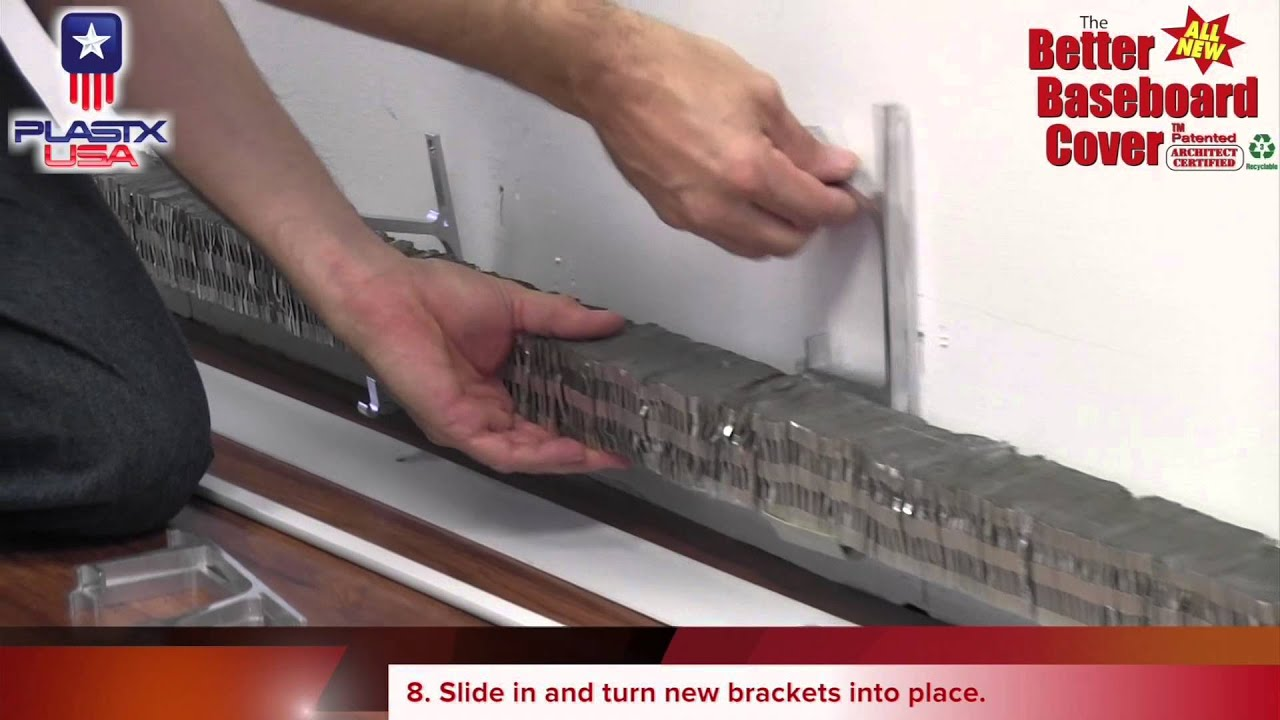 Brand-new How to Install The Better Baseboard Cover - YouTube YK46