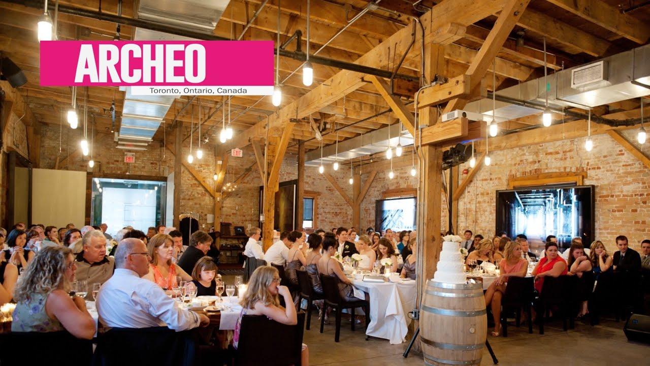 Real Weddings Archeo: Best Toronto Wedding Locations