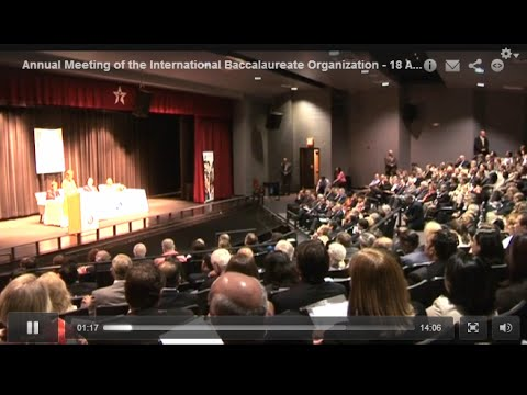 Annual Meeting of the International Baccalaureate Organization