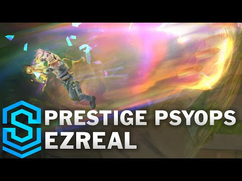 Prestige PsyOps Ezreal Skin Spotlight - League of Legends
