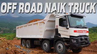 OFF ROAD NAIK TRUK TAMBANG RENAULT TRUCKS 8x4
