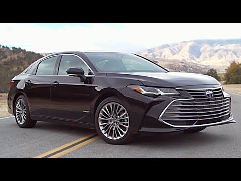 2019 Toyota Avalon Hybrid Interior Exterior And Drive