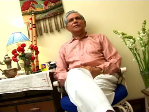 Interview   Rabindranath Ray with Kolkata Television 2007