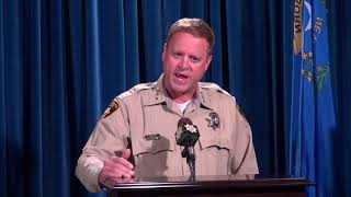 Undersheriff Kevin McMahill Briefs the Media on Incident Involving Michael Bennett