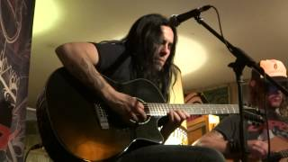 Gus G Mats Levén play Black Sabbath`s Planet Caravan (acoustic)