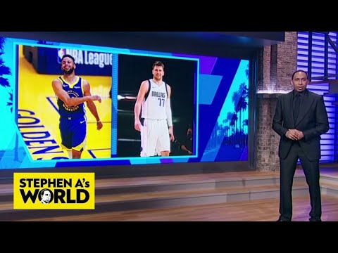 Stephen A. chooses between Steph and Luka for the rest of the season | Stephen A's World