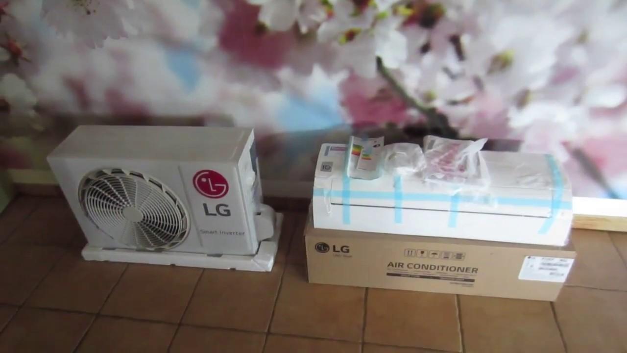 Lg klimaanlage einbauen youtube for Klimaanlage dachmontage