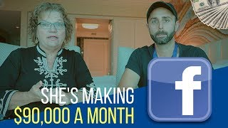 She Makes $90,000 Per Month Selling on Facebook