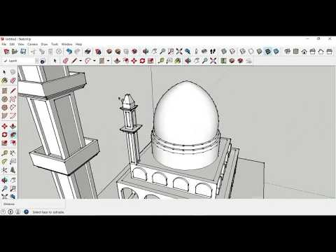Google Sketchup Video _  3D Mosque