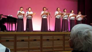 国立駿河療養所での仏教讃歌女性コーラス「マーヤの会」2