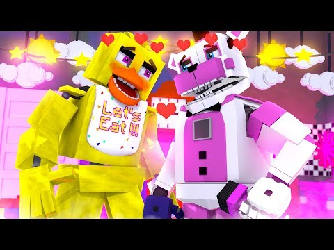 Chica and Funtime Freddy's Date - Minecraft FNAF Roleplay