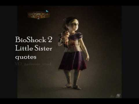 Little Sister quotes in BioShock 2 - Part 2