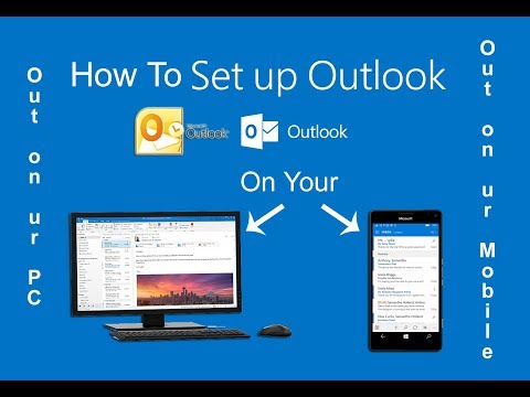 How to put outlook email on computer