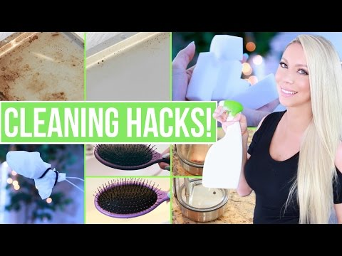 12 Cleaning Hacks You NEED to Know!