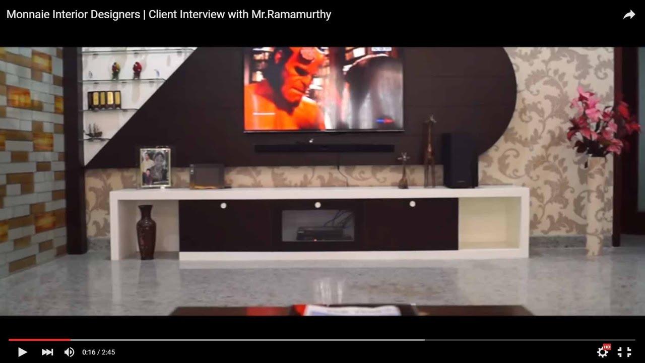 Monnaie Interior Designers Client Interview with MrRamamurthy