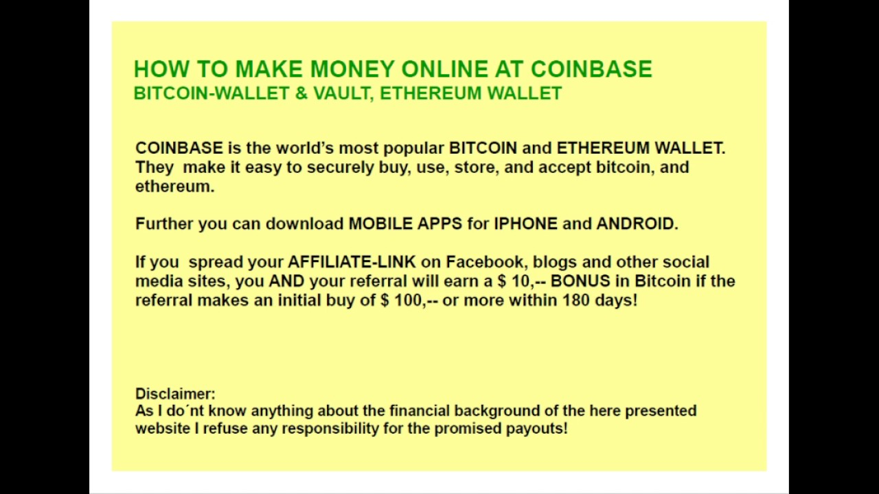 Bitcoin wallet referral program ethereum white yellow dexdigital how to buy bitcoin on coinbase ccuart Image collections