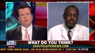 Dr. Benjamin Carson on White House Warning to Not Offend Obama - Neil Cavuto -  3/4/13