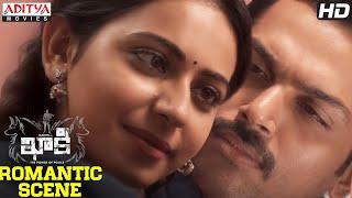 Karthi Rakul Romantic Scene | Khakee Movie | Karthi, Rakul Preet || H.Vinoth || Ghibran