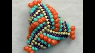Triangulation - Dimensional Beaded Triangles