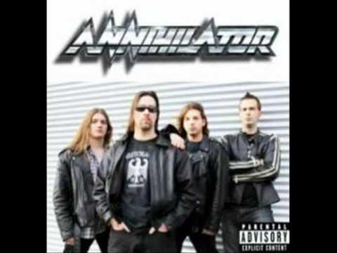 Annihilator - Hell bent för leather - judas priest cover