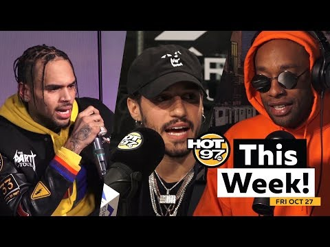 Chris Brown gets nervous, Russ speaks, Young Pappa & E Class freestyle + MORE on HOT 97 This Week!