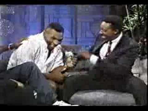 Muhammad Ali and Mike Tyson on same talk show - P1 (rare)
